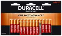 Duracell - Quantum AAA Alkaline Batteries - long lasting, all-purpose Triple A battery for household and business - 20 count