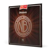 D'Addario Nickel Bronze Acoustic Guitar Strings, Medium, 13-56