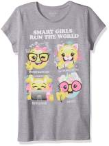 The Children's Place Big Girls' Short Sleeve Graphic Tees