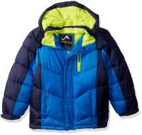 Vertical '9 Boys' Bubble Jacket with Zip Chest Pocket