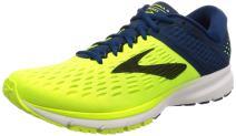 Brooks Men's Running Shoes, Ebony Blue Orange