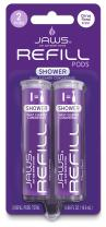 JAWS Daily Shower Cleaner Refill Pack. Includes 2 Refill Pods. Non-Toxic and Eco-Friendly Cleaning Products.