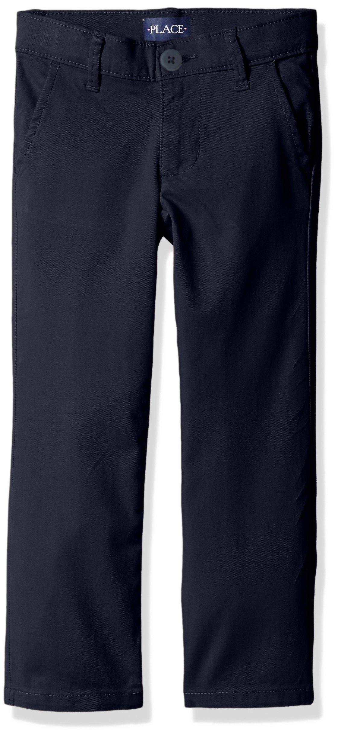 The Children's Place Girls' Skinny Uniform Pant