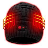 Autocastle Heated Hat Men Women Battery Heat Cap,7.4V