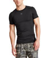 Mission Men's VaporActive Voltage Short Sleeve Compression Shirt