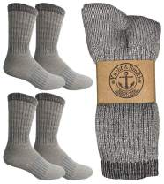 Yacht & Smith Merino Wool Thermal Boot Socks for Hiking, Trail, Hunting, Winter