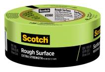 Scotch Rough Surface Painter's Tape, 1.88 in x 60 yd, 1 Roll, Paint Alternative for Floor, Social Distancing, Color Coding, Safety Marking