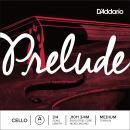 D'Addario Prelude Cello Single A String, 3/4 Scale, Medium Tension