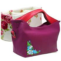 Camera Bags for Women, Multi-Functional Hobo Tote Handbags and Purses with Removable Padded Case