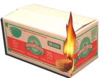 Box of Fire-Starting Nuggets, Tan, (50 Count)