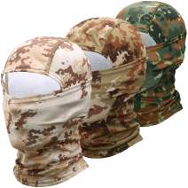 AXBXCX Camouflage Balaclava - Breathable Face Mask Sun UV Protection for Hunting