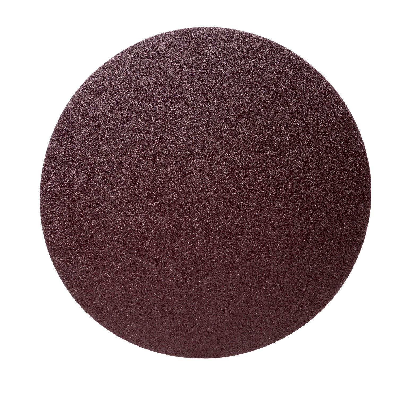 3M PSA Cloth Disc 348D, 40 X-weight, 16 in x NH, Die 1600Z