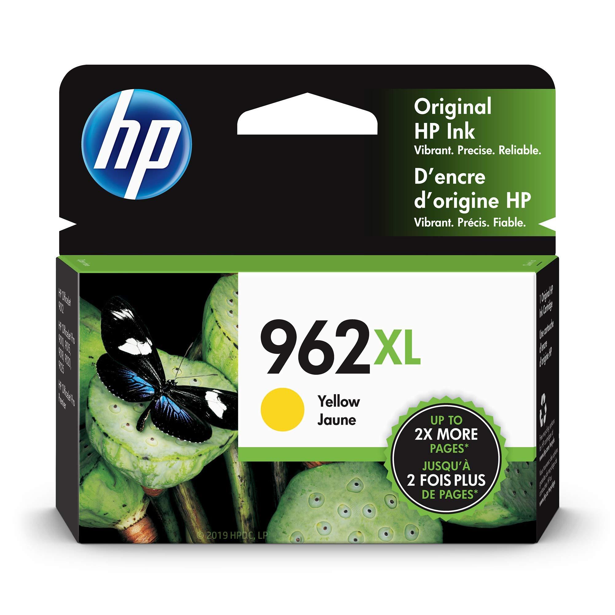 HP 962XL | Ink Cartridge | Yellow | 3JA02AN