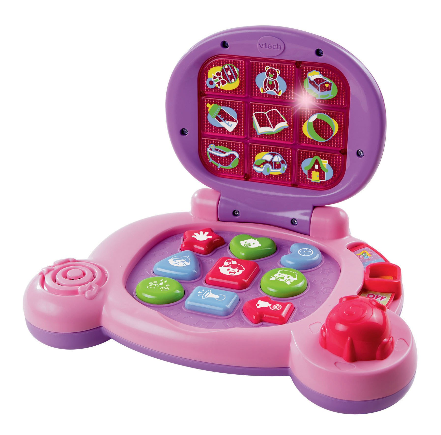 VTech Baby's Learning Laptop, Pink, Great Gift For Kids, Toddlers, Toy for Boys and Girls, Ages Infant, 1, 2, 3