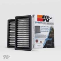 K&N Premium Cabin Air Filter: High Performance, Washable, Lasts for the Life of your Vehicle:  Designed For Select 2011-2018 Jeep Wrangler  Vehicle Models, VF1010