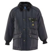 RefrigiWear Men's Water-Resistant Insulated Iron-Tuff Siberian Workwear Jacket with Soft Fleece Collar