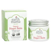 Organic Diaper Balm by Earth Mama | Safe Calendula Cream to Soothe and Protect Sensitive Skin, Non-GMO Project Verified, 2-Fluid Ounce