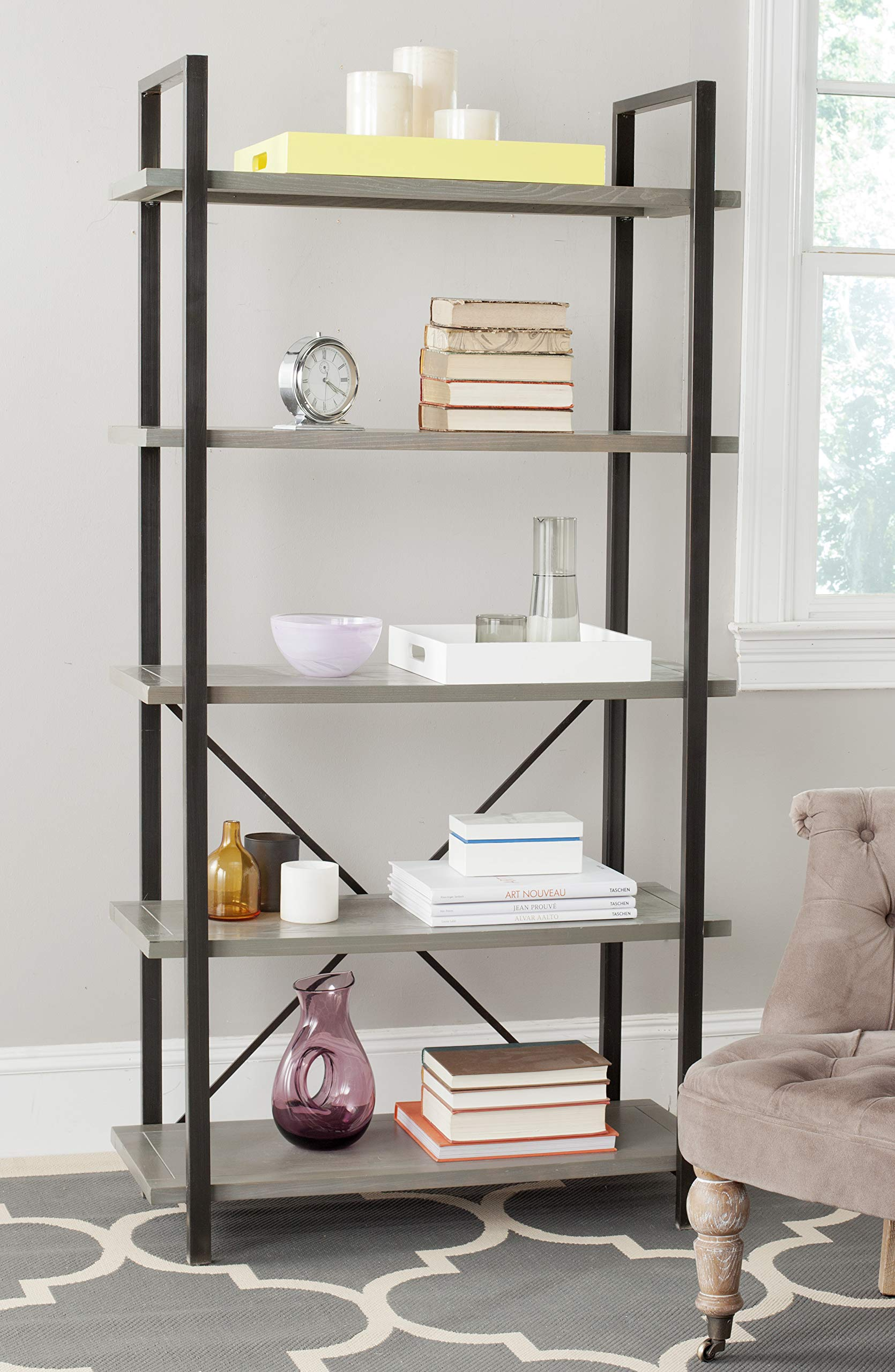 Safavieh American Homes Collection Chantel Red Maple 5-Tier Etagere