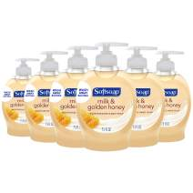 Softsoap Liquid Hand Soap, Milk and Honey - 7.5 fluid ounce (Pack of 6)