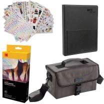 "Kodak Dock Paper Cartridge Bundle + Deluxe Case + 4x6"" Album + Sticker Frames - 40 Pack Bundle"