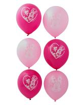 American Greetings Minnie Mouse Party Supplies, Latex Balloons, 6-Count