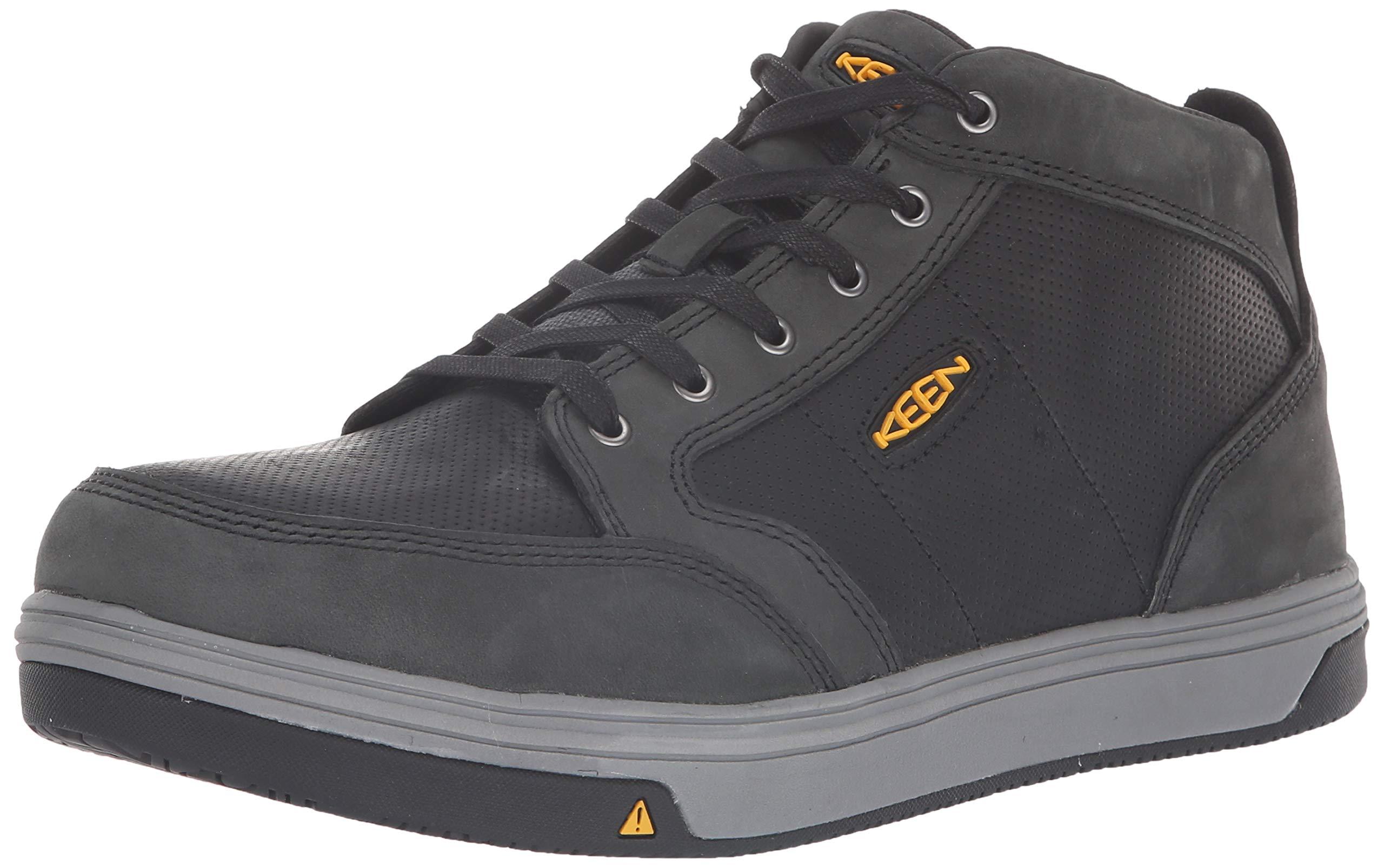KEEN Utility Men's Redding Mid Alloy Toe Non Slip Work Shoe