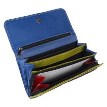 Leather Wallets for Women - RFID Blocking clutch purses for women by Rustic Town
