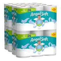 Angel Soft Toilet Paper, Linen Scent, 48 Double Rolls, 48 = 96 Regular Rolls, Bath Tissue