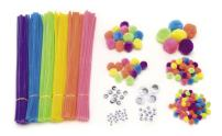 Darice, Assorted EDU1525 300-Pack Craft Supplies, 300/Pack