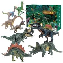 Mouttop Huge Dinosaur Toys, Jumbo Dinosaur Toys, 8 Packs Realistic Looking Jurrasic WorldBig Dinosaur Set Figure for Toddlers, Perfect for Party Favors