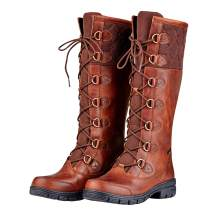 Dublin Ladies Fleet Boots Red/Brown 6.5