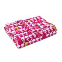 Betsey Johnson Paris Love Throw, 50x70, Pink