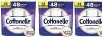 Cottonelle Ultra ComfortCare Soft Toilet Paper, 24 Double Rolls, Bath Tissue