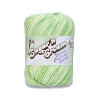 Lily Sugar 'N Cream Super Size Scents Yarn, 3 Ounce, Aloe Vera
