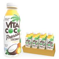 Vita Coco Coconut Water, Pressed Coconut Pineapple| Impossible To Hate | Smooth, Refreshing Coconut Taste | Naturally Hydrating | Gluten Free | 16.9 Oz Slim Bottle (Pack Of 12)