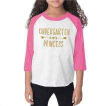 Bump and Beyond Designs Girl Back to School Shirt 1st Day of School Outfit Kindergarten Princess