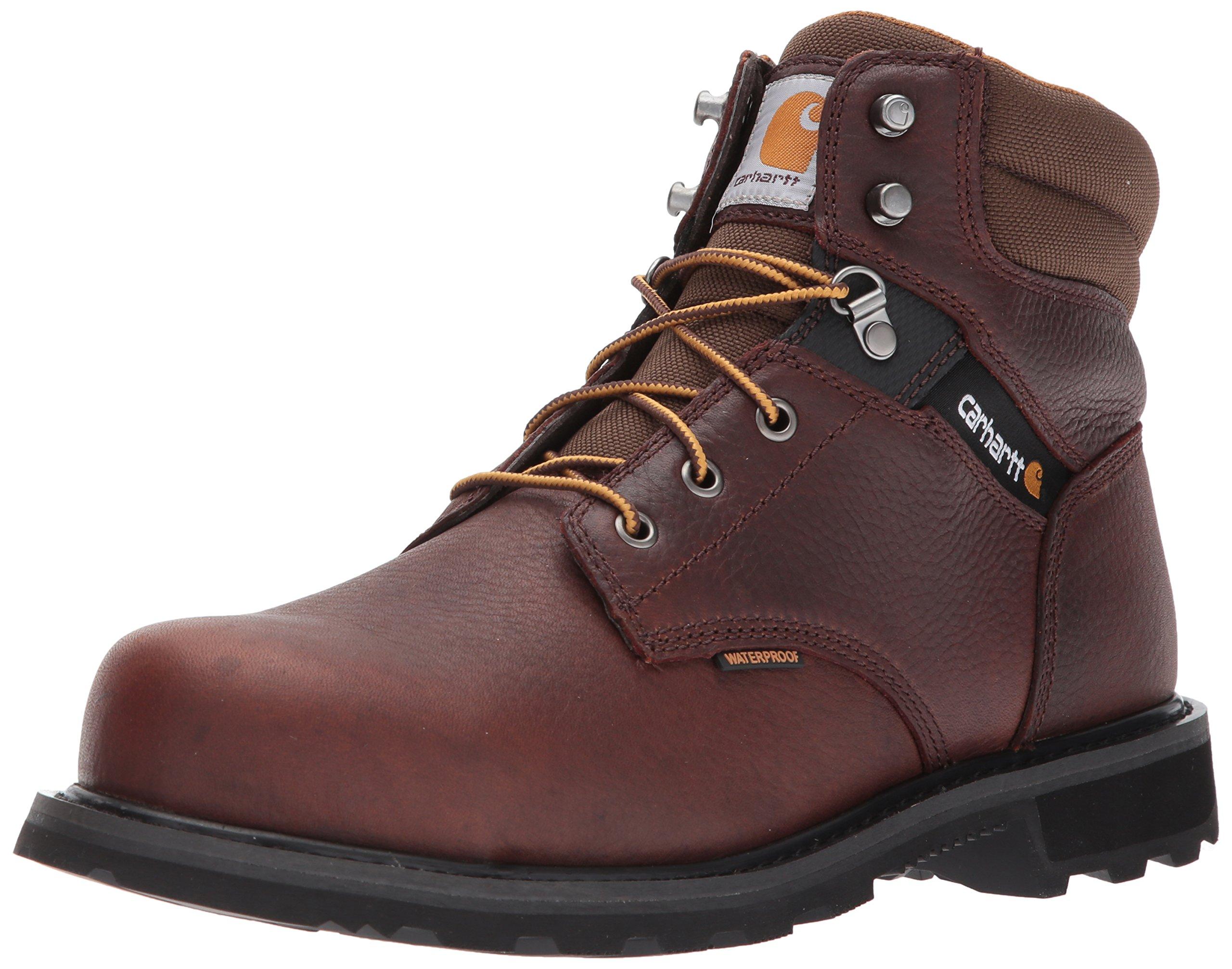 "Carhartt Men's 6"" Cmw6264 Leather Waterproof Breathable Steel Toe Work Boot Industrial"