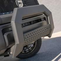 ARIES 2164000 AdvantEDGE Black Aluminum Truck Bull Bar, Select Chevrolet Silverado, GMC Sierra 1500