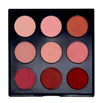 Sienna Blaire Beauty 9 Shades Blush Palette Cheek Powder Blush Makeup Kit