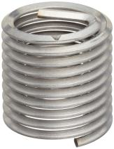 "E-Z Lok Threaded Insert, 18-8 Stainless Steel, Helical, 7/16""-14 Internal Threads, 0.656"" Length (Pack of 5)"