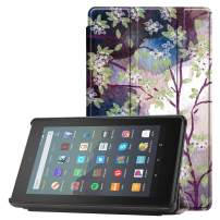 Famavala Shell Case Cover Compatible with All-New Fire 7 Tablet [9th Generation, 2019 Release] (LoveTree)