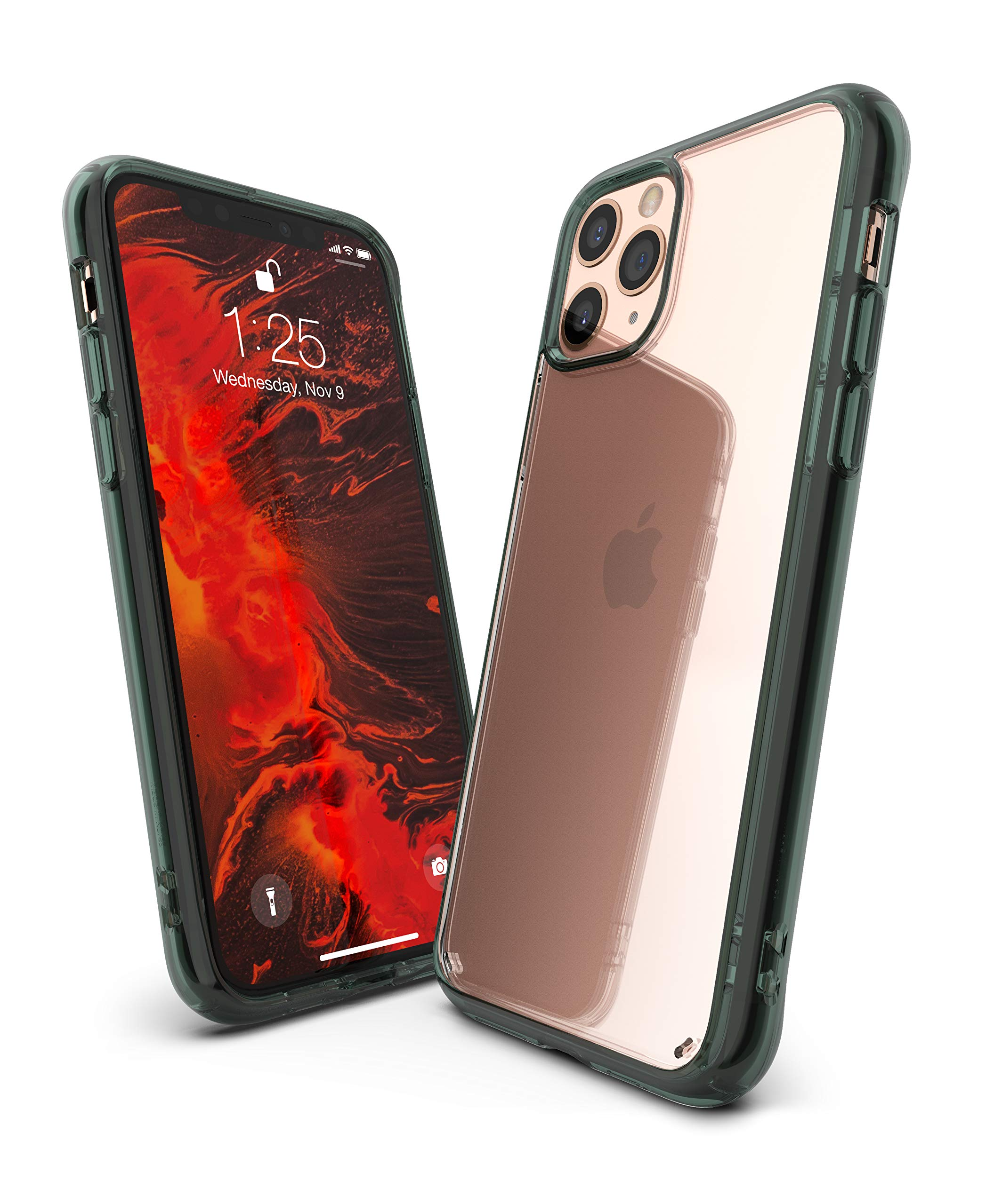 Ringke Fusion Designed for iPhone 11 Pro Max Case (2019) - Pine Green