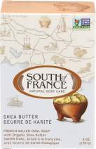 South Of France French Milled Vegetable Bar Soap, Shea Butter, 6 Oz