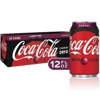 Coca-Cola Zero Cherry Diet Soda Soft Drink, 12 fl oz, 12 Pack