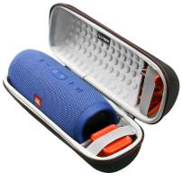 LTGEM Case for JBL Charge 3 Waterproof Portable Wireless Bluetooth Speaker. Fits USB Cable and Charger. [ Speaker is Not Include ]
