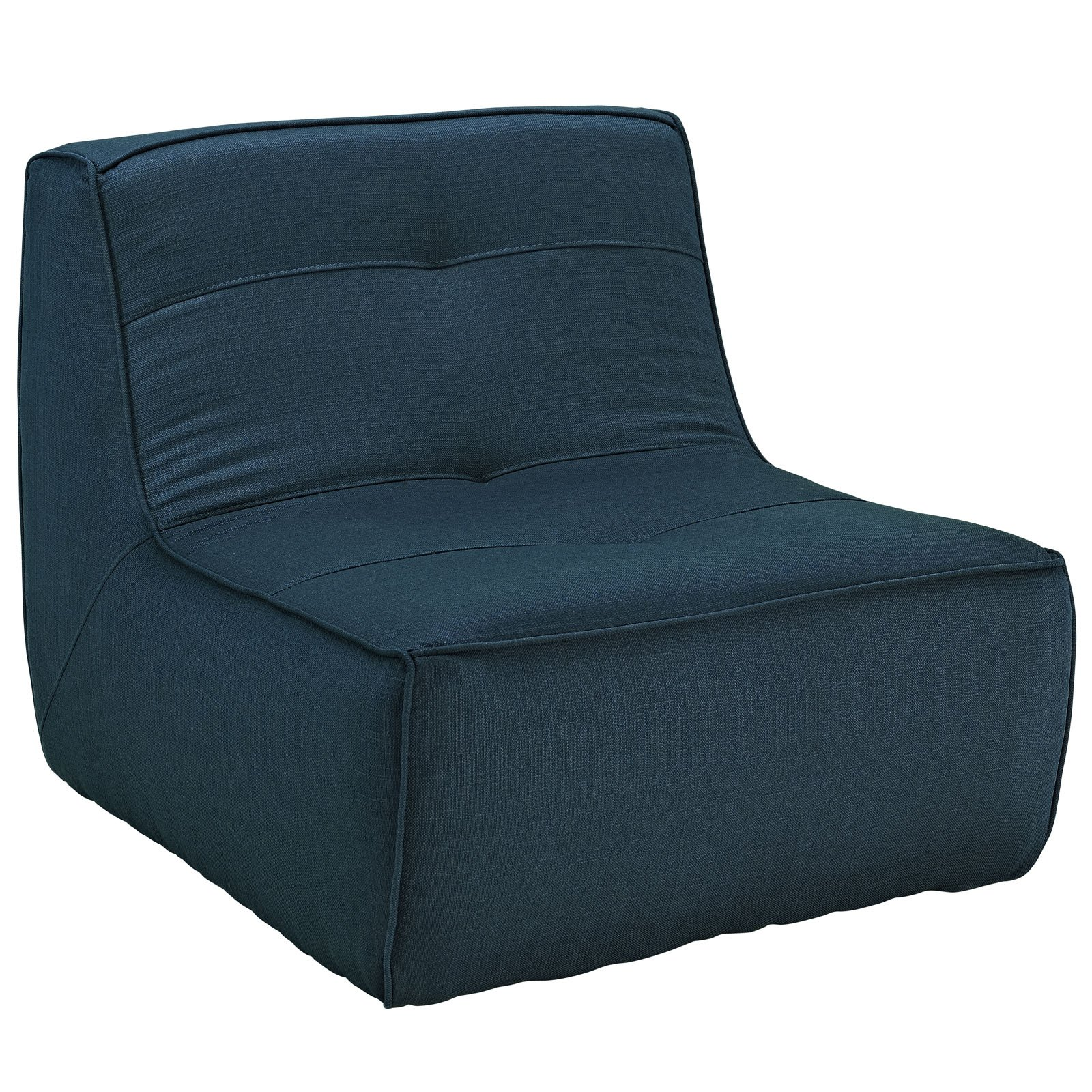 Modway Align Upholstered Armchair in Azure