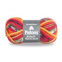 Patons  Kroy Socks Yarn - (1) Super Fine Gauge  - 1.75 oz -  Mexicala  -   For Crochet, Knitting & Crafting