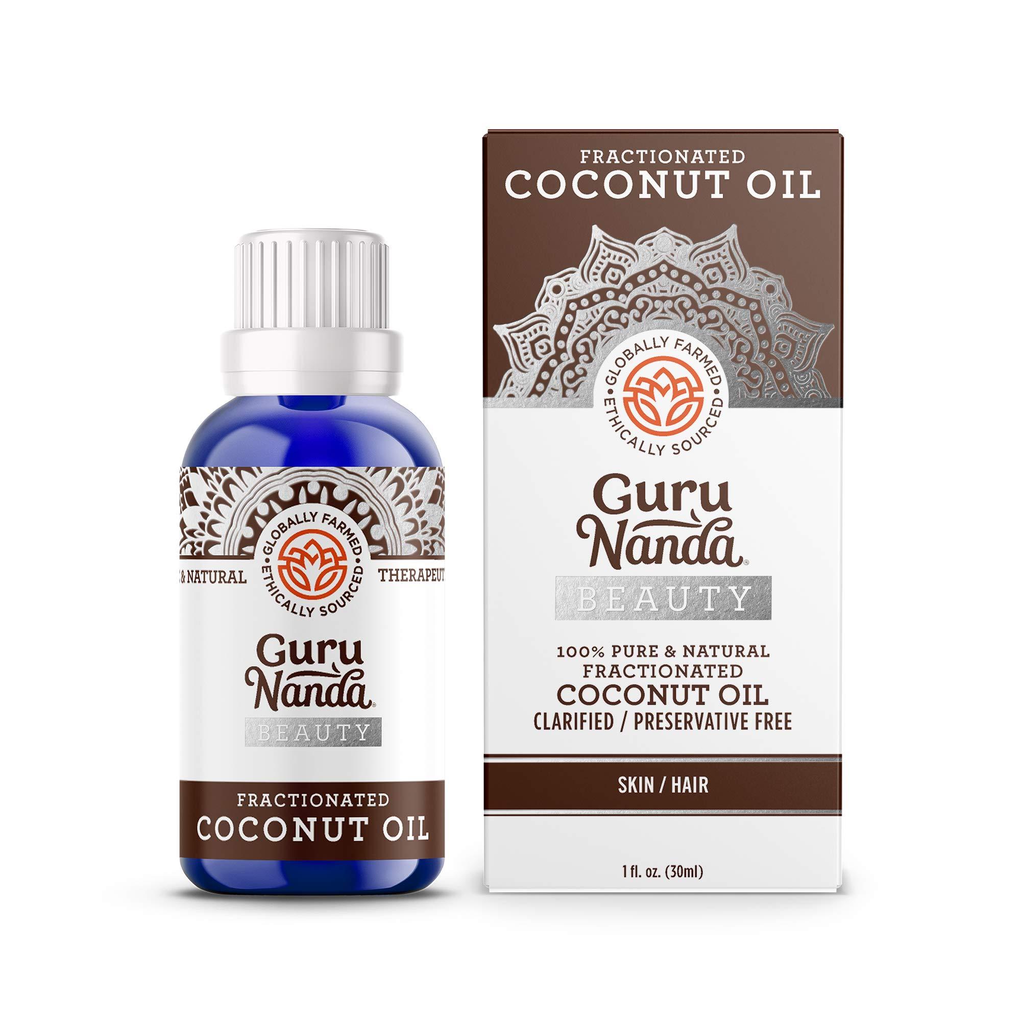 GuruNanda Beauty Oils - Pure and Natural (Coconut Oil)