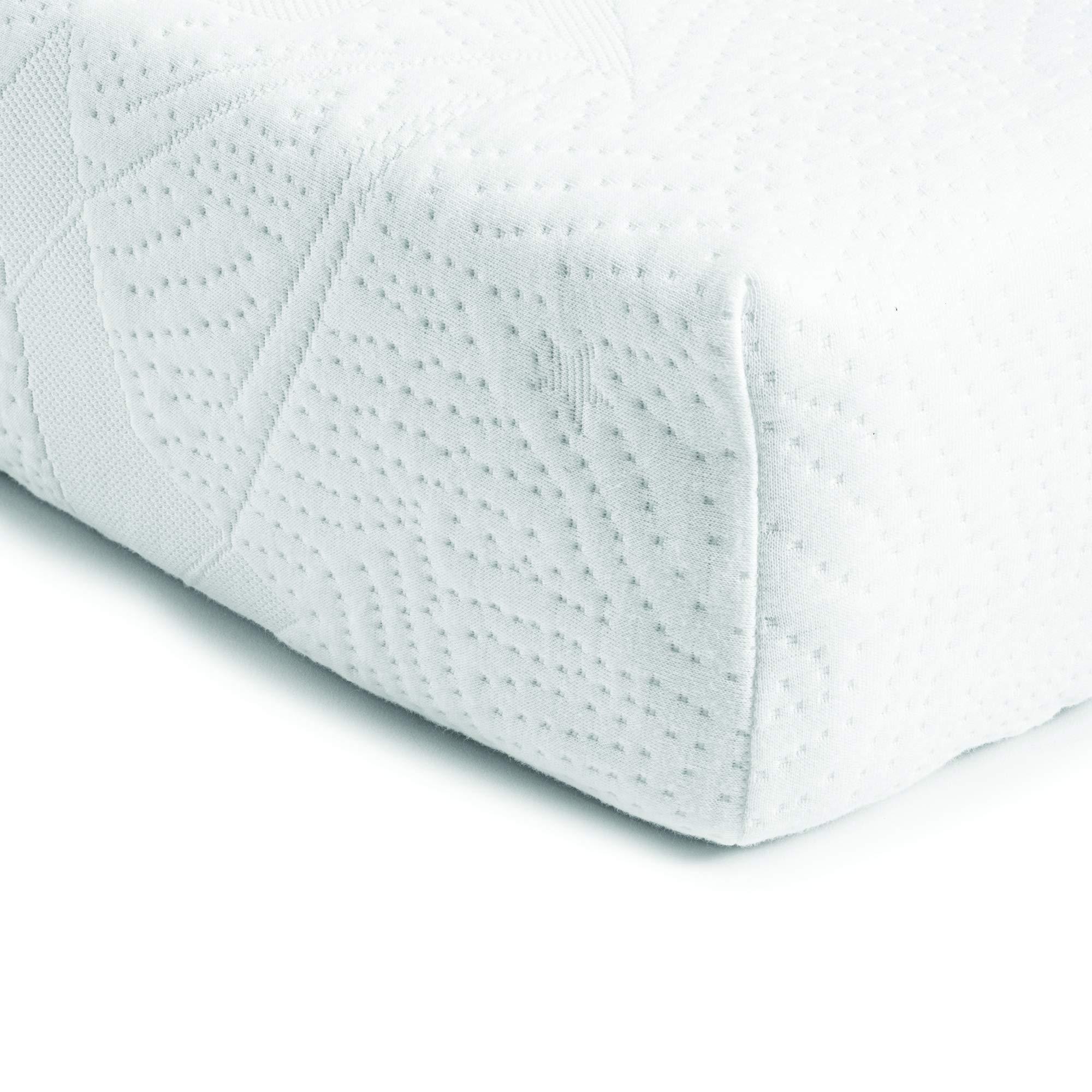 Bundle of Dreams Mini Hypoallergenic Organic Baby Crib Water Repellent Mattress Cover, 5-Inch