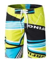 XTAPAN Men's Swim Trunks Quick Dry Beach Board Shorts Printed with Mesh Lining
